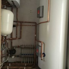 Double Story Side and Rear Extension - Fullwell Avenue, Clayhall (1.27) - Cylinder, Manifold, Water Softner