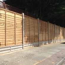 Fencing - Mansfield Avenue, East Barnet (1)