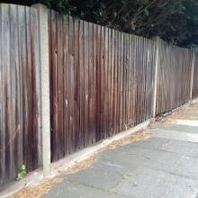 Fencing - Mansfield Avenue, East Barnet (11)