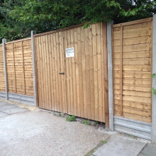 Fencing - Mansfield Avenue, East Barnet (2)