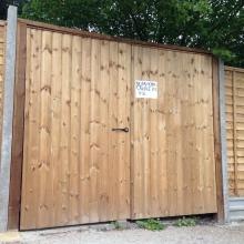 Fencing - Mansfield Avenue, East Barnet (3)