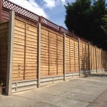 Fencing - Mansfield Avenue, East Barnet (4)