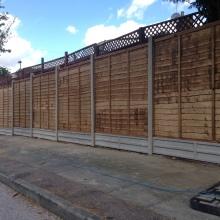 Fencing - Mansfield Avenue, East Barnet (6)
