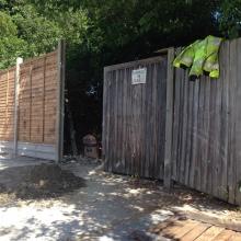 Fencing - Mansfield Avenue, East Barnet (7)