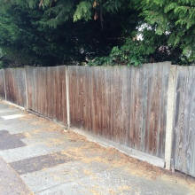 Fencing - Mansfield Avenue, East Barnet (9)