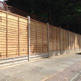 Fencing - Mansfield Avenue, East Barnet