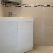 Bathroom Installations (down stairs WC) -  Ravensdale Avenue, North Finchley