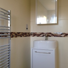 Bathroom Installations (en-suite bath,WC) -  Ravensdale Avenue, North Finchley