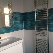 Bathroom Installations (en-suite jacuzzi,WC) - Bourne Avenue, Southgate
