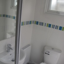 Bathroom Installations (patio WC, shower) - Drayton Road, Borehamwood (2)