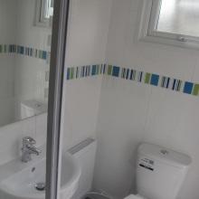 Bathroom Installations (patio WC, shower) - Drayton Road, Borehamwood (2)