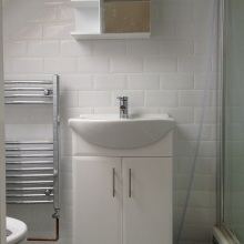 Dormer Loft Conversion (en-suite wash basin) - Brampton Grove, Wembley