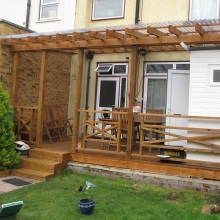 Garden Fencing, Decking and Design - Drayton Road, Borehamwood