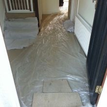 Property Refurbishments and Home Renovations (carpet protection) - Chauncy Avenue, Potters Bar
