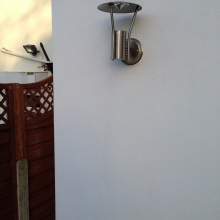 Kitchen Extension (outside light) - Clifton Road, Crouch End
