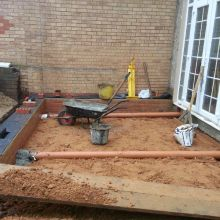 Kitchen Extension (ventilating system) - Roding Lane North, Woodford Green