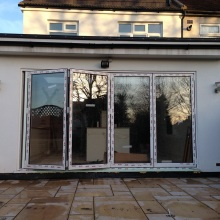 Kitchen Extension (bifold patio doors) - Roding Lane North, Woodford Green