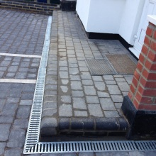 Patios and Driveways (block paving, drainage system) - Roding Lane North, Woodford Green