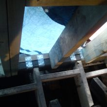 Semi-Detached Dormer Loft Conversion (floor structure with joist hangers) - Creighton Avenue, Muswell Hill
