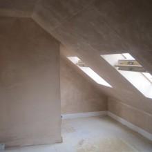 Semi-Detached Dormer Loft Conversion (plastering) - Creighton Avenue, Muswell Hill