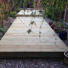 Garden Decking - Alma Road, Muswell Hill (1)