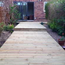 Garden Decking - Alma Road, Muswell Hill (2)
