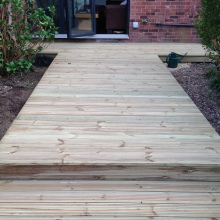 Garden Decking - Alma Road, Muswell Hill (3)