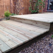 Garden Decking - Alma Road, Muswell Hill (4)