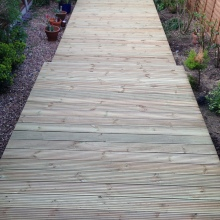 Garden Decking - Alma Road, Muswell Hill (5)
