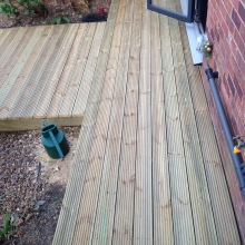 Garden Decking - Alma Road, Muswell Hill (6)