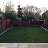 Garden Fencing - Clifton Road, Crouch End