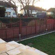 Garden Fencing - Clifton Road, Crouch End (3)