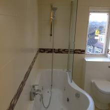 Bathroom Installations (en-suite bath,WC) -  Ravensdale Avenue, North Finchley (2)