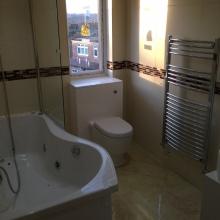 Bathroom Installations (en-suite bath,WC) -  Ravensdale Avenue, North Finchley